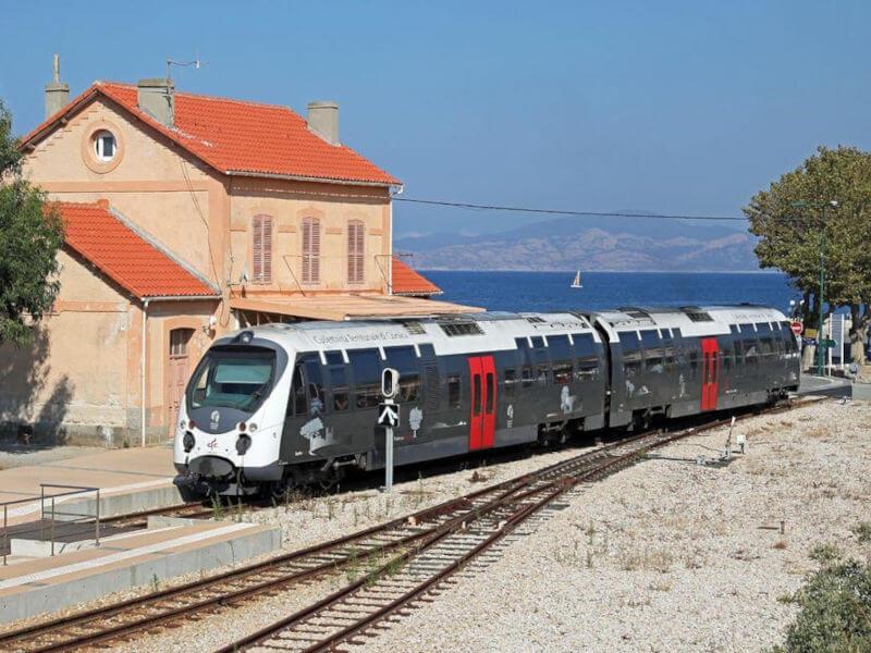Chemin de fer de la Corse, révision de bogie par Arterail